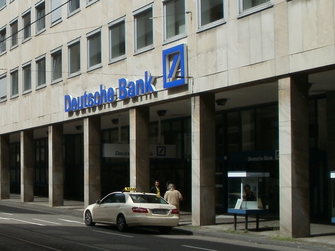 deutsche bank Deutsche bank ag (german pronunciation: [ˈdɔʏ̯t͡ʃə ˈbaŋk ʔaːˈgeː] ( listen)) is a german investment bank and financial services company headquartered in frankfurt, hesse, germany the bank is operational in 58 countries with a large presence in europe, the americas and asia as of december 2017 deutsche bank is the 17th largest bank in the world by total assets.