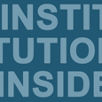 Institutional Insider