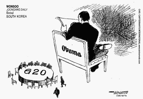 Obama And The G20 Meeting
