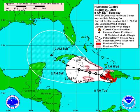 Gusty Hurricane Gustav