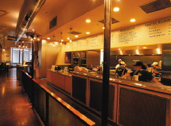 Chipotle Restaurant Interior 2