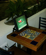 Chili's Table Top Terminal