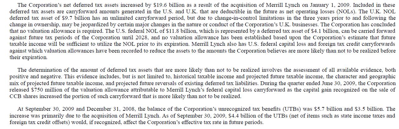 bofa 2009-3q-net-deferred-tax