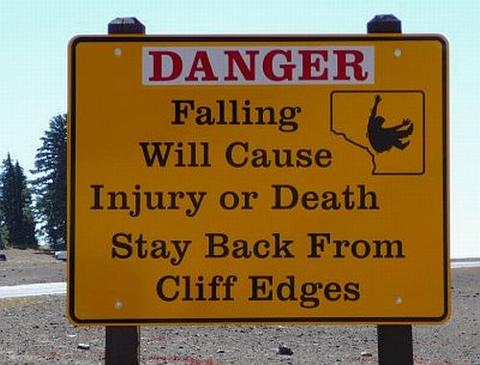Cliff fall