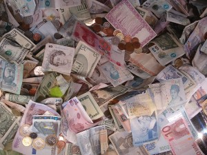 Banknotes At the Museum Of London