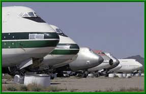 Airline Boneyard