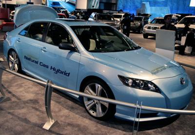The Toyota Camry Electric/Nat Gas Hybrid Concept Car
