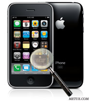 inside iphone 3gs metue