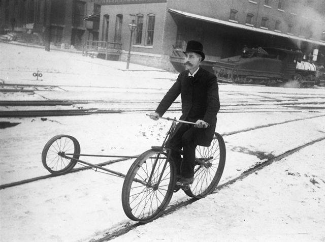 bike-on-rail