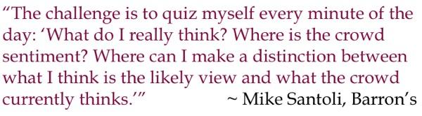 Michael Santoli Quote