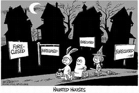 Housing Closures Halloween