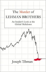 The Murder of Lehman Brothers by Joseph Tibman: Book Cover