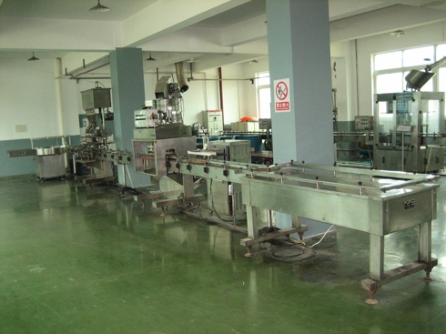 Picture #1: The old liquid fertilizer production line was idle and appeared to be idiled for quite some time