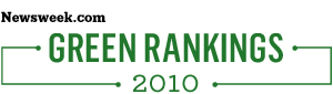 2010 Green Rankngs logo