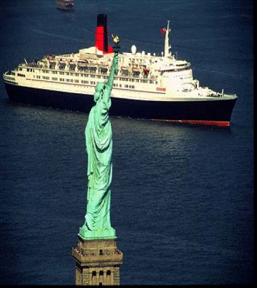 QE2 in the USA