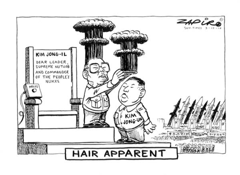 North Korea Chooses An Hair