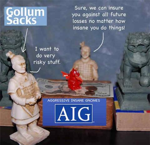 AIG And Goldman Sachs