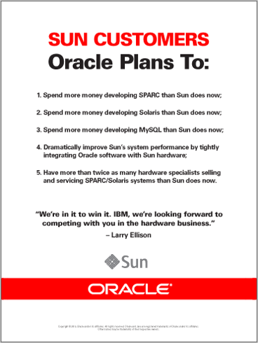 Oracle Ad (click to enlarge)