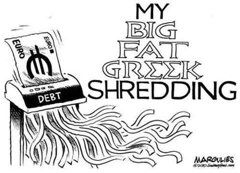 Greek Shredding