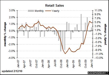 Retail Sales January 2010