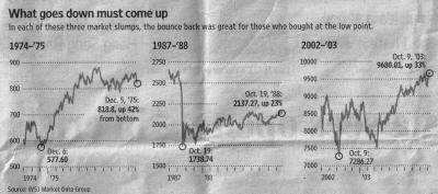 Stock Market Crashes and Recoveries