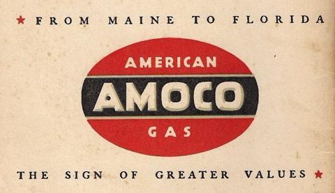 Amoco American Gas Logo