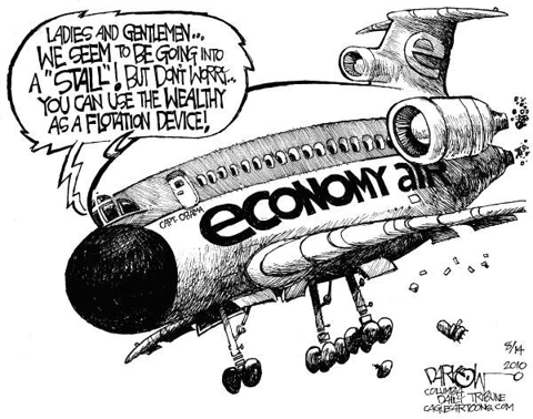 Economy Air - Going Down Fast!