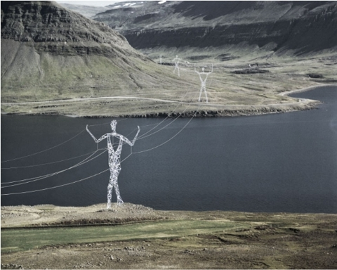 Energy Pylons With A Difference
