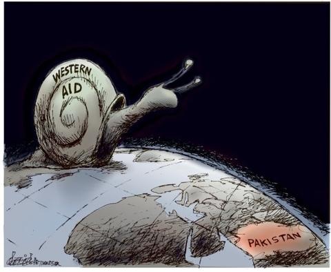 Pakistan Waits For Aid