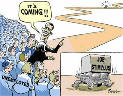 Obama Preaches Patience