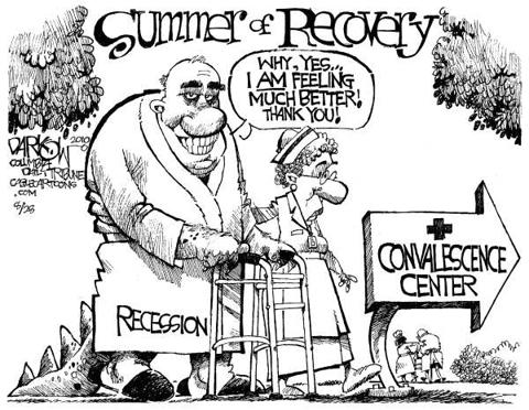Recession Regains Strenght