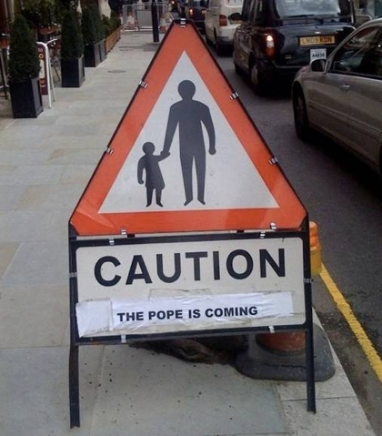 Papal Distraction