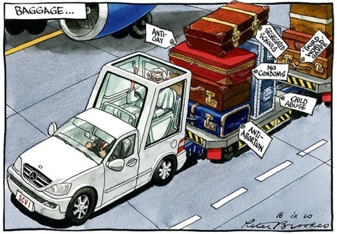 Pope Mobile Baggage