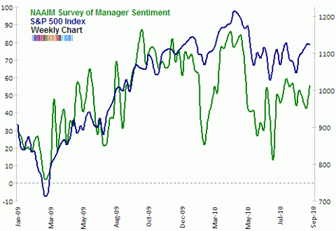 NAAIM survey of manager sentiment Sep 2010 update2
