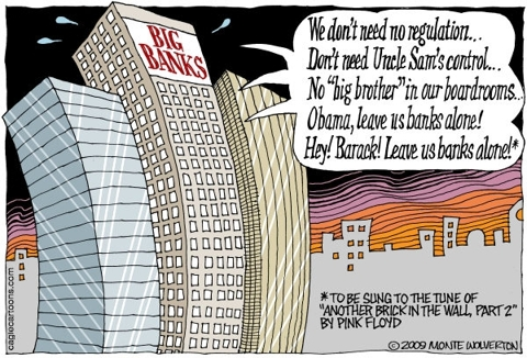 Big Banks Start The Revolution