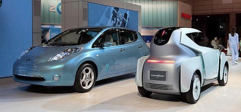 Nissan Leaf andGlider