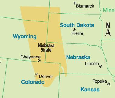 The Niobrara Shale formation