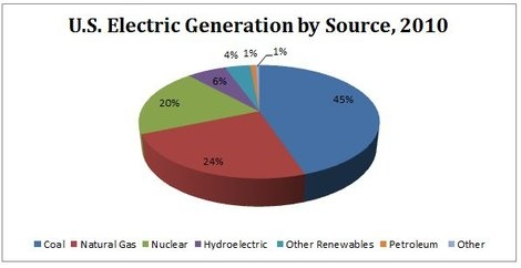U.S. Electric Generation by Source, 2010
