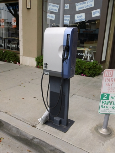 EV Charging Station, Montana Avenue, Santa Monica