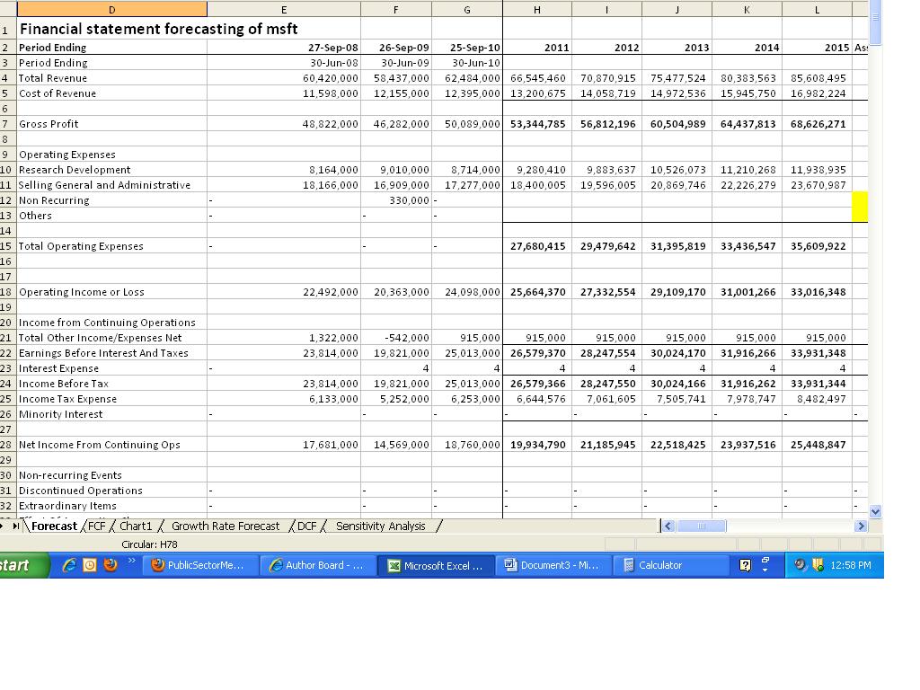 Balance Sheet Of Microsoft 2012 13 free form templates download – Balance Sheet of Microsoft