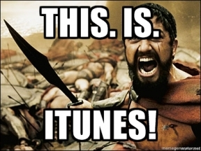 this is itunes