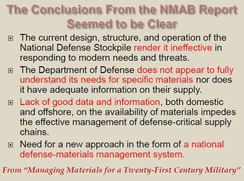 NMAB Report