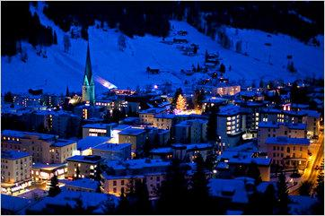 The town of Davos, Switzerland, where the World Economic Forum holds its annual meeting and imposes many fees.