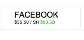 Facebook $84B