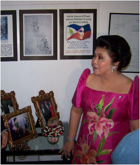 Imelda Marcos at the PBLF Imeldific Evening (June 21, 2007)