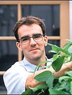 Adam Bogdanove, a discoverer of TALENs while at Iowa State University and now a professor of plant pathology and plant-microbe biology at Cornell University. Photo: Iowa State University