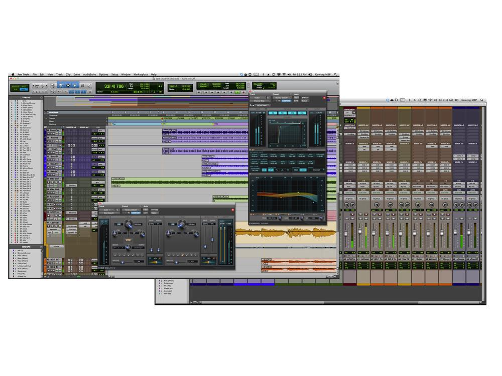 AVID PRO TOOLS 10 Screen shot