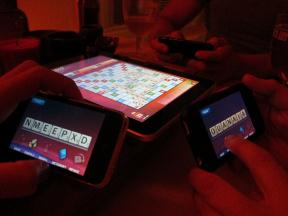 Scrabble on the iPad