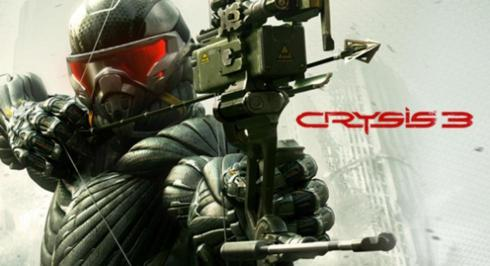 Promotion screen of Crysis 3