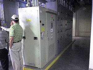 The inverter for the solar array...